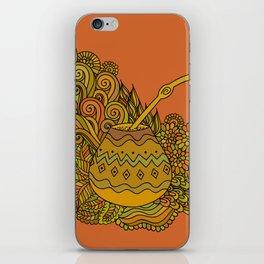 Yerba Mate In The Gourd iPhone Skin