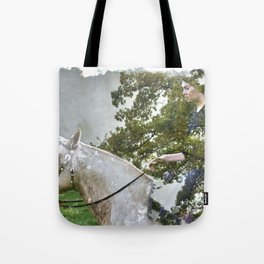 A Spark in the Trees Tote Bag