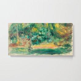 Pierre-Auguste Renoir - Paysage Metal Print