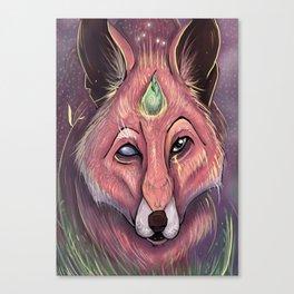 Fox of Wisdom Canvas Print