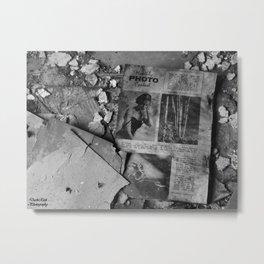 Silver City, Utah Series #3 Metal Print