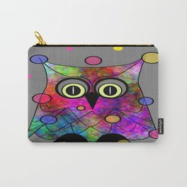 Psychedelic Owl Carry-All Pouch