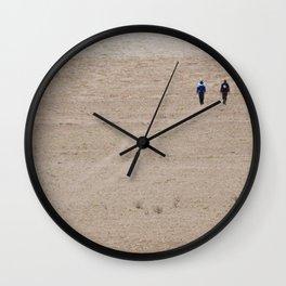 Salar De Uyuni, Dusty Road Wall Clock