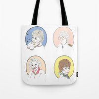 dorothy Tote Bags featuring Dorothy by Jackie Thomson