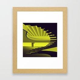 Upstairs - Brasilian Brutalism Framed Art Print