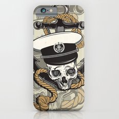 Skull with anchor Slim Case iPhone 6s