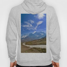 columbia icefield in summer, 2017 Hoody