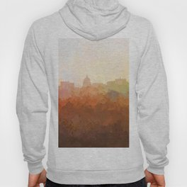 Madison, Wisconson Skyline - In the Clouds Hoody