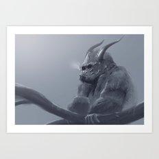 Gorilla! Art Print