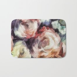 Roses of autumn. Bath Mat