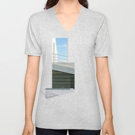 savoye glitch Unisex V-Neck