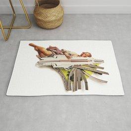 Sparklette | Collage Rug