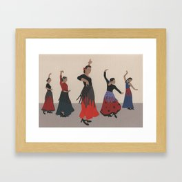 Flamenco Framed Art Print