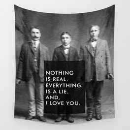 And, I love you. Wall Tapestry