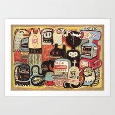 Convertisseur Art Print