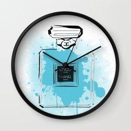 Blue Perfume #2 Wall Clock