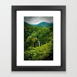 La Fortuna Framed Art Print