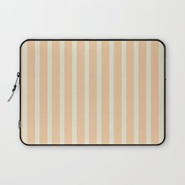 Stripes: Soybean and Sweet Corn Laptop Sleeve