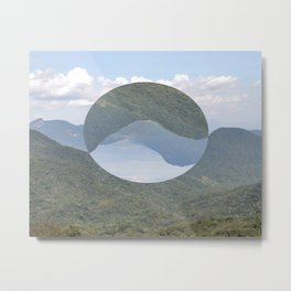 Slice of Paradise Metal Print