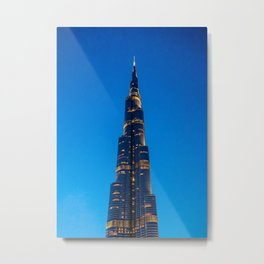 Burj Khalifa Metal Print