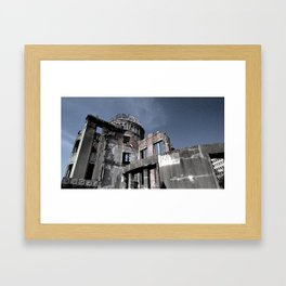 Skeletal Ruins Framed Art Print