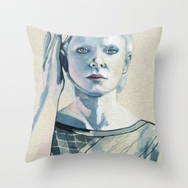 Is this all that I am? Is there nothing more? #4 Throw Pillow
