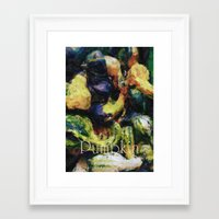 pumpkin Framed Art Prints featuring Pumpkin by LoRo  Art & Pictures