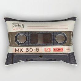 Vintage Music Cassete Rectangular Pillow