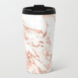 Taggia rose gold marble Travel Mug