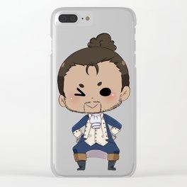 Chibi Lafayette Clear iPhone Case