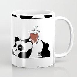 Wall of Boba Pandas Coffee Mug