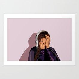 Crying Mary Art Print