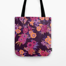 Floral in purple tones Tote Bag