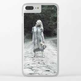 """VAMPLIFIED """"Welcome to Bowden Road"""" Clear iPhone Case"""