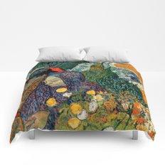 Memory of the Garden at Etten by Vincent van Gogh Comforters