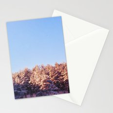 Winter threes Stationery Cards