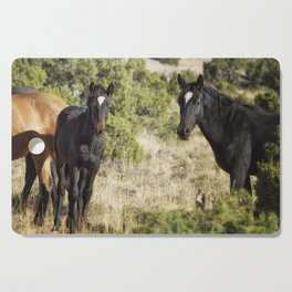 Family Resemblance - Orlando and Norma Jean - Pryor Mustangs Cutting Board