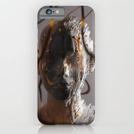 Abstract Portrait ll iPhone Case