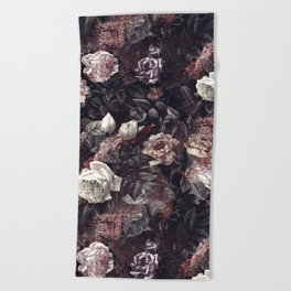 EXOTIC GARDEN - NIGHT III Beach Towel