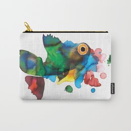 colorful fish Carry-All Pouch