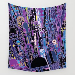 SILICON VALLEY HIGH Wall Tapestry