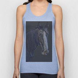 Horse portrait Unisex Tank Top