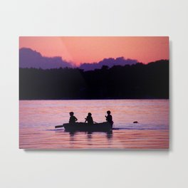 Maine Sunset Metal Print