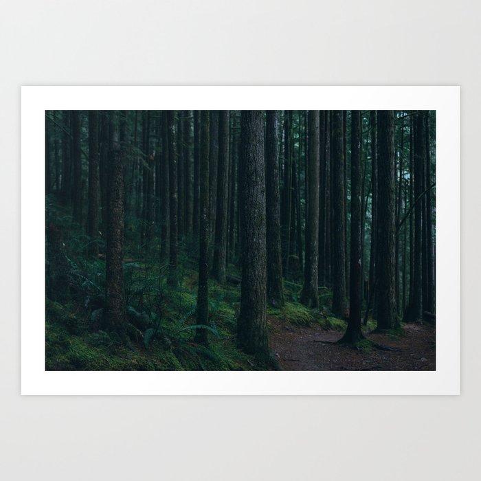 Forest mood Art Print