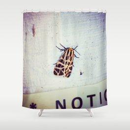 Moth-er Shower Curtain