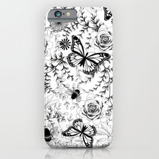 Butterflies And Bees Slim Case iPhone 6s