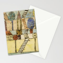 """Paul Klee """"The Village Madwoman"""" (1920) Stationery Cards"""