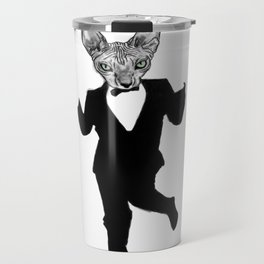 Classy Cat Travel Mug