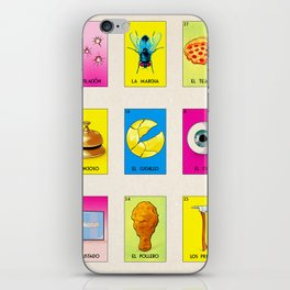 BB LOTERIA POD CASE & SKIN iPhone Skin