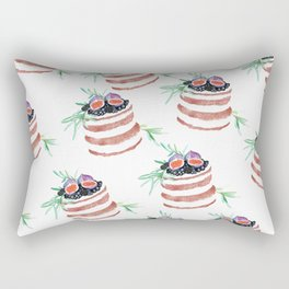 Fig cakes pattern Rectangular Pillow